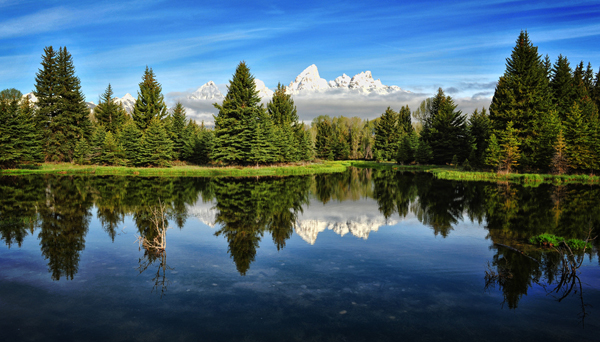 Beautiful Landscape Reflection Photo Images