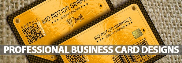 Professional Business Card Designs (25 Examples)