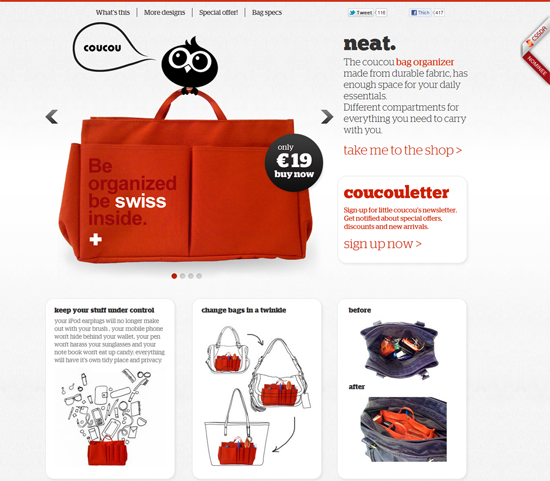 Inspiring Examples Of E-commerce Web Designs
