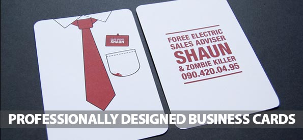 Professionally Designed Business Cards (25 Examples)
