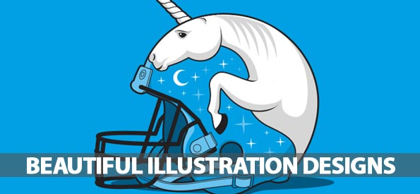 35 Beautiful Illustration Designs By GlennzTees