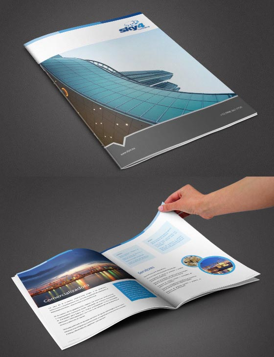 Brochure Designs: 25 Corporate Design For Inspiration 15