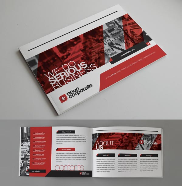 Brochure Designs: 25 Corporate Design For Inspiration 23