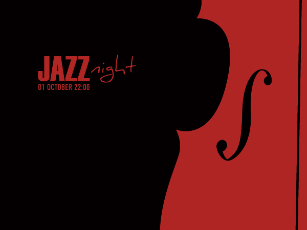 Jazz Night Poster Vector Graphic