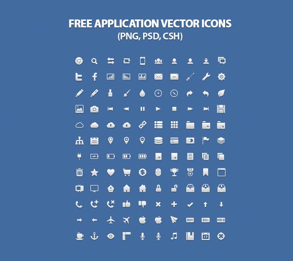 25 free vector icons pack for web and graphic designers icons 120 free application vector icons for web designers reheart Choice Image