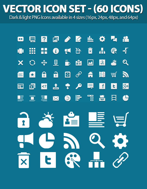 25 Free Vector Icons Pack For Web And Graphic Designers Icons