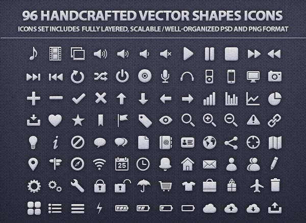 Free Vector Icons Pack 7