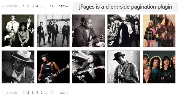 jPages: Awesome JavaScript Pagination Plugin