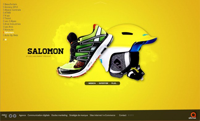 36 Inspiring Examples Of Web Designs 2012 - 7