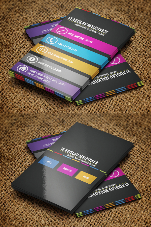 Creative Business Cards Design - 11