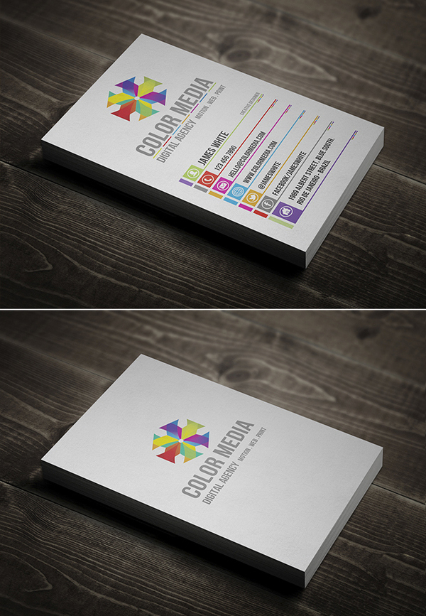 Creative Business Cards Design - 12