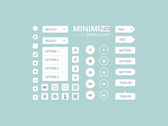Free UI Kits For Web and Graphic Designers 10