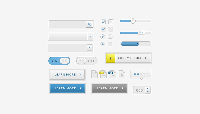 Free UI Kits For Web and Graphic Designers 21