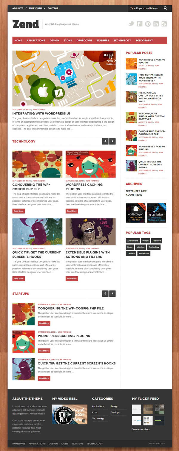 Top Premium News and Magazine Responsive WordPress Themes - 11