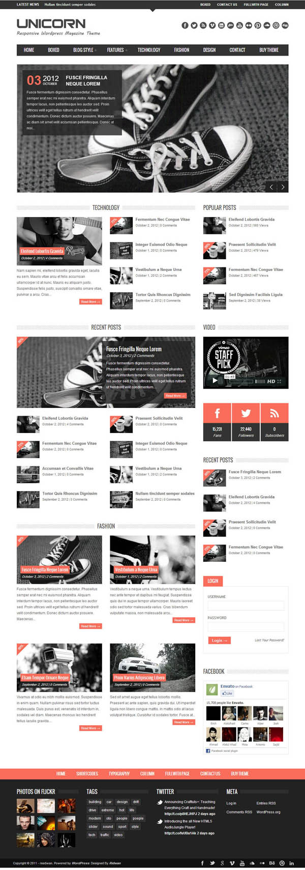 Top Premium News and Magazine Responsive WordPress Themes - 3