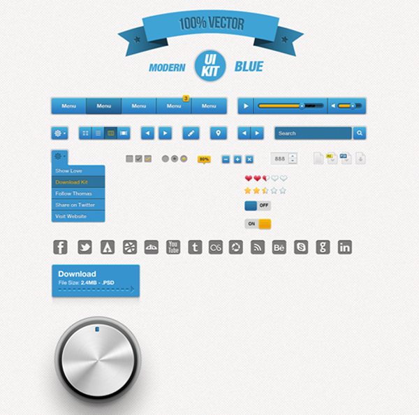 Best UI Kits of 2012 - 10