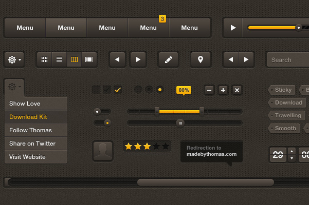 Best UI Kits of 2012 - 6