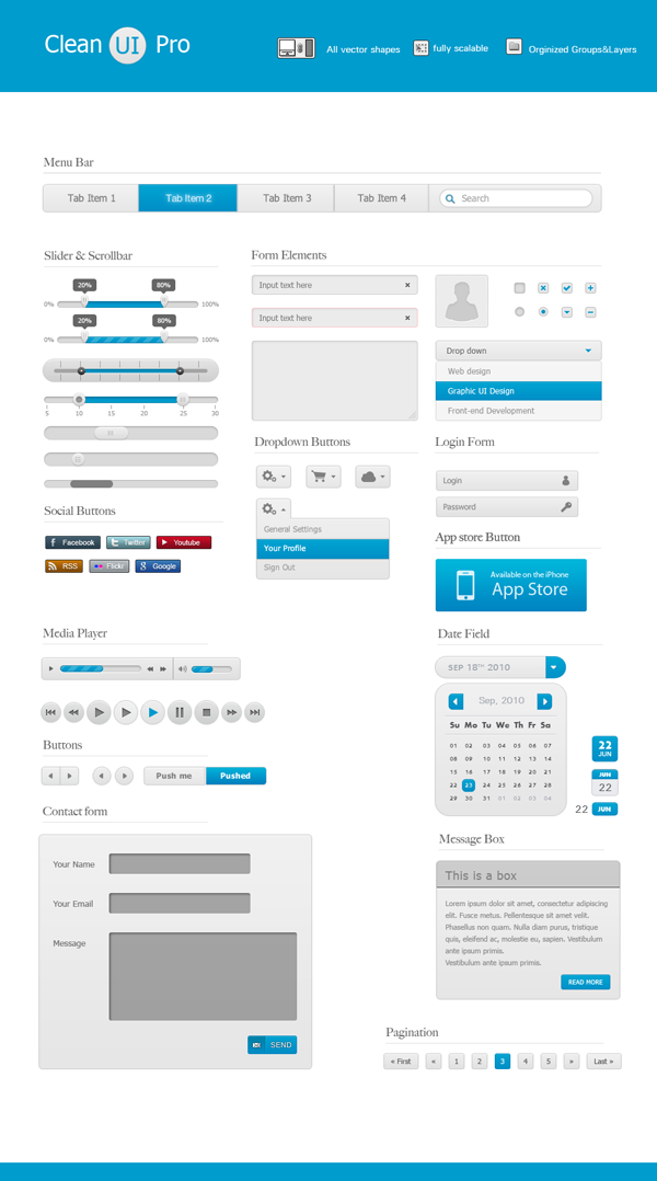 Best UI Kits of 2012 - 8