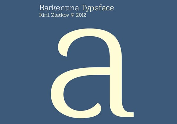 Free fonts for graphic designers - 10