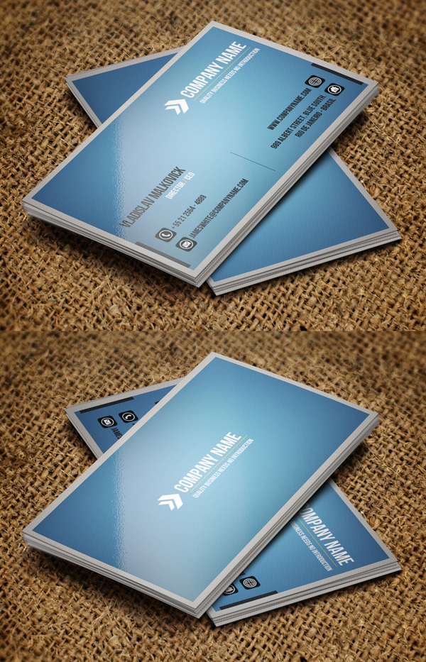 Modern Business Cards Design - 3