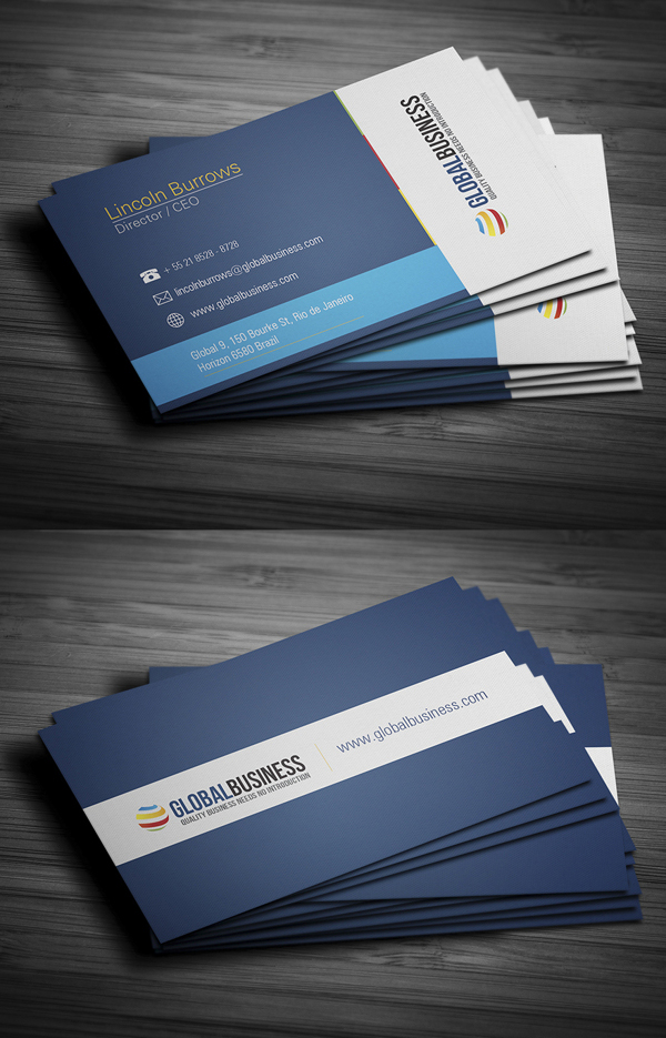 Modern Business Cards Design - 4