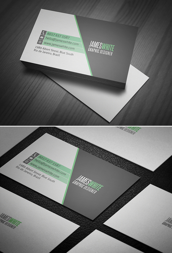 Modern Business Cards Design - 8