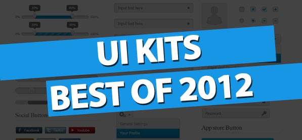 User Interface Design Kits Best Of 2012
