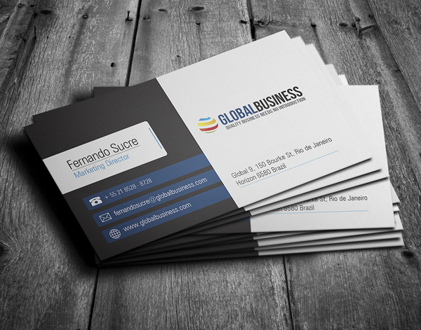 Corporate Business Cards Design 2013 - 1