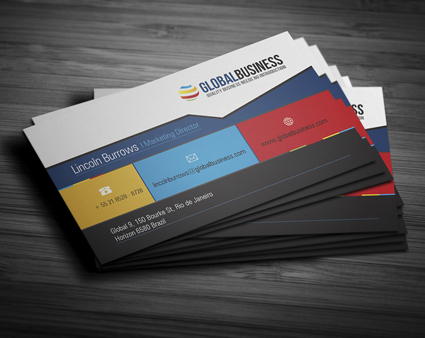 Corporate Business Cards Design Design