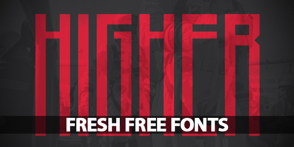 15 Fresh Free Fonts For Graphic Design