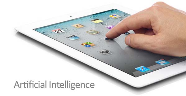 iPad hand artificial intelligence
