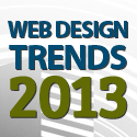 Post thumbnail of Designers should keep an eye on Web Design Trends in 2013
