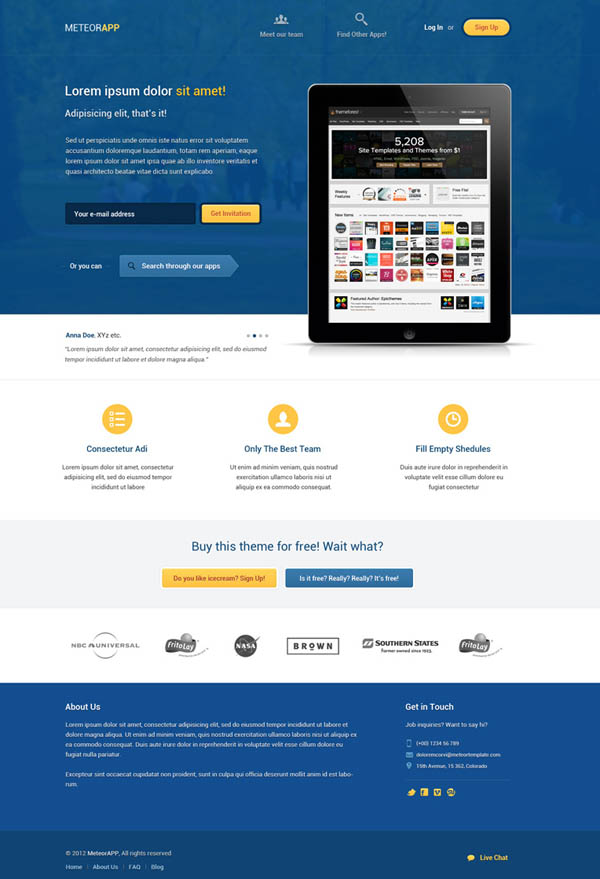 free landing page templates for wordpress - fresh free psd website templates freebies graphic