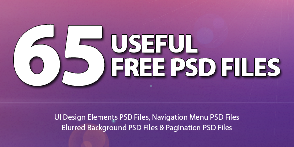 Free PSD Files: 65 Useful UI Design PSD Files for Download