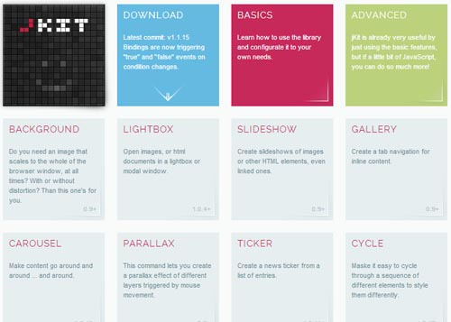 jKit: Useful jQuery User Interface Kit