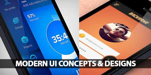 35 Modern UI Concepts and Designs
