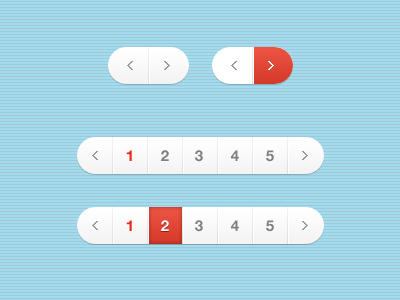 Pagination PSD Files - 1