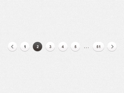 Pagination PSD Files - 12