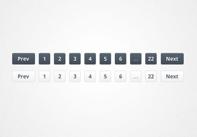Pagination PSD Files - 15