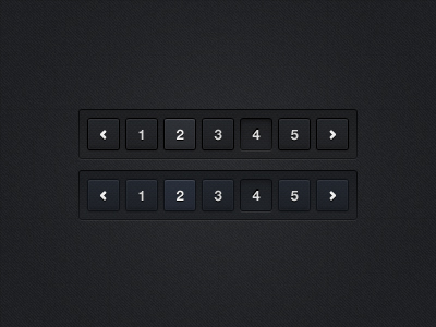 Pagination PSD Files - 4