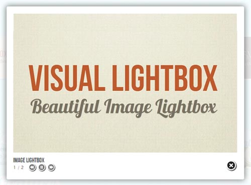 Beautiful jQuery Lightbox