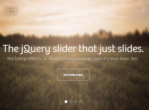 Super Tiny and Responsive jQuery Slider