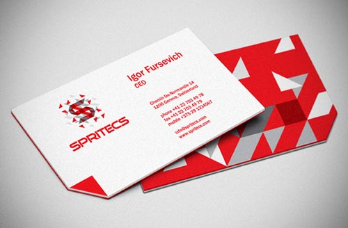 Professional business card design 2