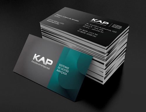 Professional business card design 21