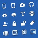 handcrafted icons for web and ui design