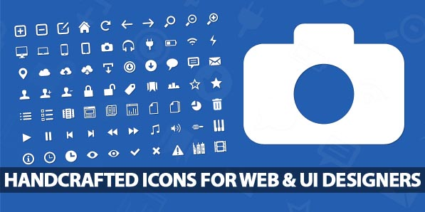 80 Beautiful Handcrafted Scalable Icons For Web & UI Desigenrs
