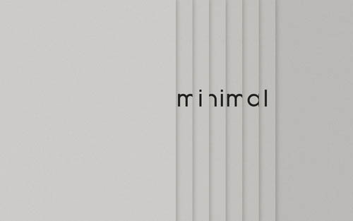 minimalism in graphic design Minimalist ads separate the true graphic designers from the folks who simply decorate a page go ahead and revel in your minimalist masterpiece your page of mostly negative space is a stark, beautiful and straightforward expression of an idea.