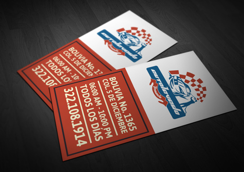 19 sticker style business card design