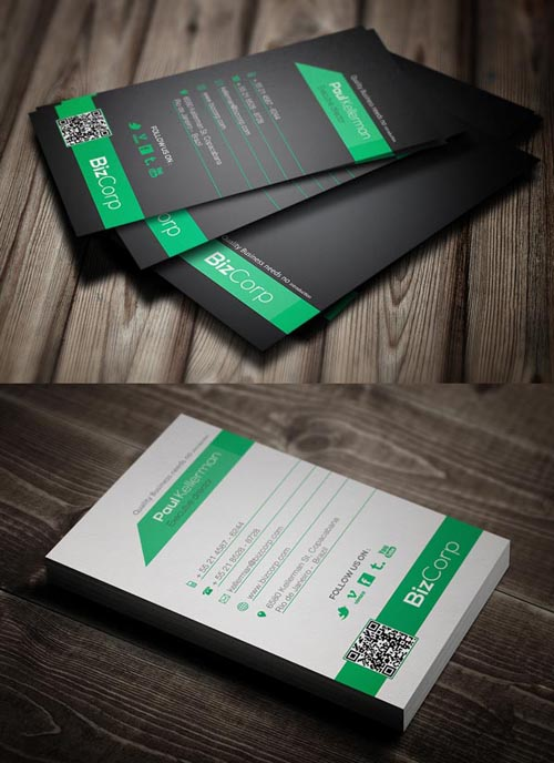 Modern business cards design 25 fresh examples design 8 super simple business card colourmoves