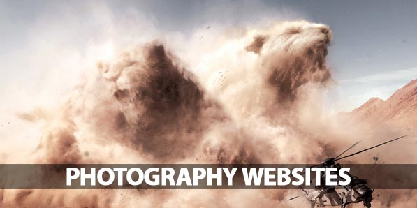 Photography Websites: 25 Beautiful and Inspiring Examples